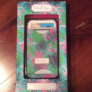 Lilly Pulitzer I Phone case fits 4/4s